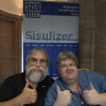 Thombs up for Sisulizer in Berlin